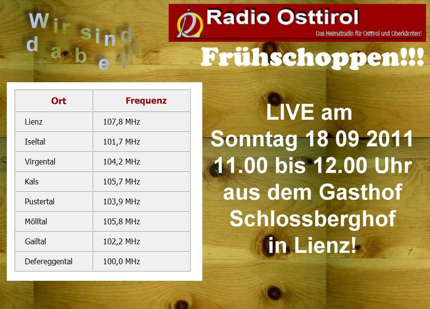 Frühschoppen mit Männerchor Zwickenberg