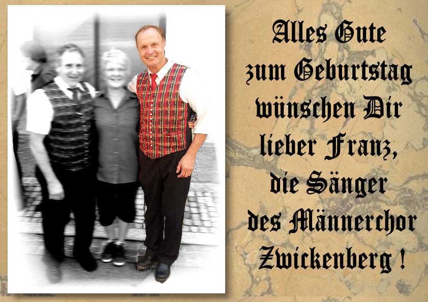 Franz Geburtstag 2013