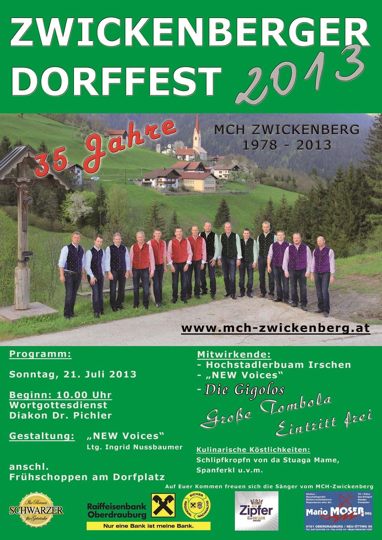 Dorffest 2013 kl 1
